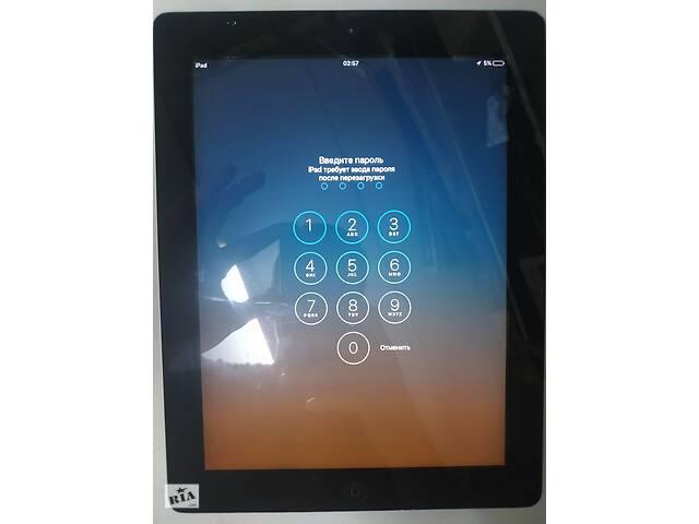 Apple iPad 2 A1395 Wi-Fi 16GB Black пароль 220802- объявление о продаже  в Києві