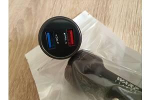 Авто-зарядное для One Plus, Warp/Dash Charge, 2 х USB.