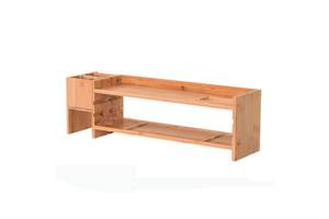 Бамбуковая подставка для монитора Органайзер рабочего пространства BS02 SKL25-223335