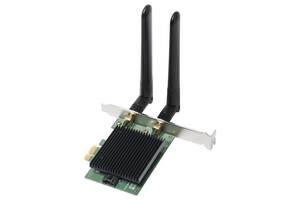 Беспроводной адаптер Edimax EW-7833AXP (AX3000, PCIe, Wi-Fi 6, Bluetooth 5.0, OFDMA, MU-MIMO)