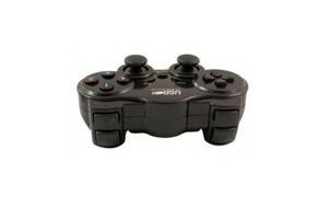 Беспроводной геймпад DualShock вибро bluetooth EW-800 джойстик для ПК PC (45573-IM)