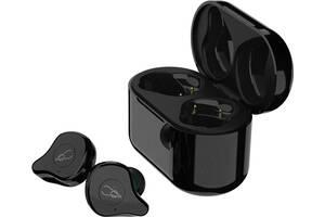 Беспроводные Bluetooth наушники Sabbat E12 Ultra Glitter Dark c поддержкой aptX (Black-Jade)