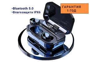 Беспроводные Блютуз Наушники G02 Pro с Микрофоном для Тренировок - Беспроводные bluetooth наушники для Телефона и ПК