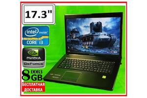 Большой ИГРОВОЙ Lenovo: 17.3″ CORE i3 GEFORCE 6gb + БЕСПЛАТНАЯ доставка!