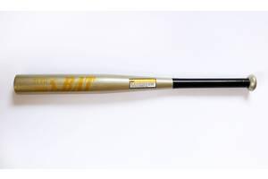 Бита бейсбольная метал 63 см (MS 1428) Серебристая