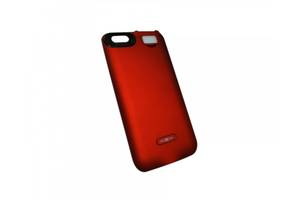 Чехол-аккумулятор Moxom для iPhone 6/6s 3000 мА/ч с дополнительной встроенной вспышкой Красный