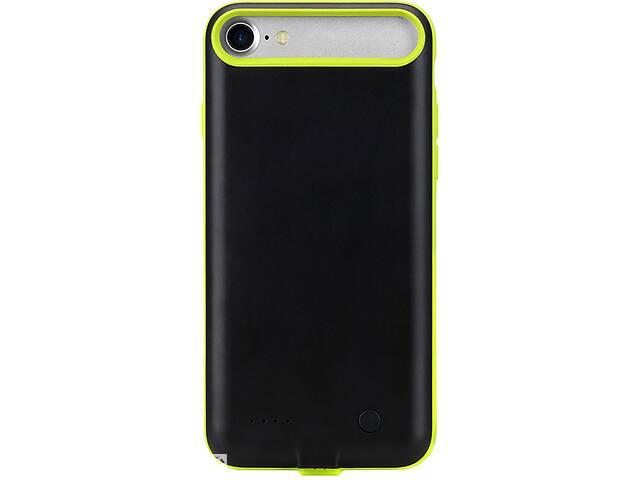 купить бу Чехол-аккумулятор Rock P8 power case 2000m Apple iPhone 7 Green Rck(K)F_68851 в Киеве