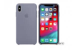 Чехол для Apple iPhone XS Max Silicone Case Lavender Gray (MTFH2)