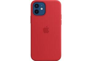 Чехол для моб. телефона Apple iPhone 12 | 12 Pro Silicone Case with MagSafe - (PRODUCT)RED (MHL63ZE/A)