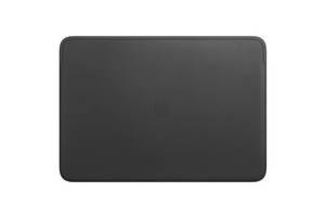 "Чехол для ноутбука Apple 16"" MacBook Pro, Leather Sleeve, Black (MWVA2ZM/A)"