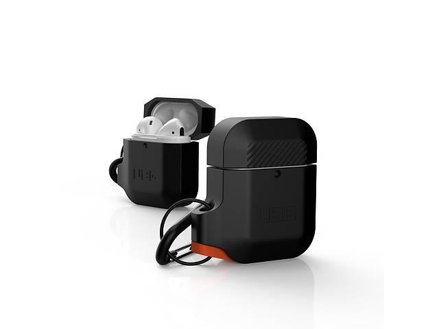 бу Чехол UAG для Apple Airpods Silicone, Black/Orange в Киеве