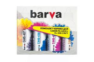 Чернила BARVA CANON GI-490 B/C/M/Y 4*90г (CG490-090-MP)