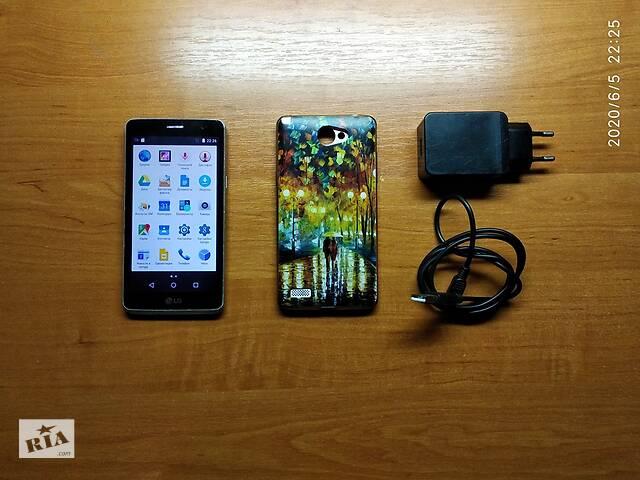бу Cмартфон LG Max X155 Android + силиконовый чехол + зарядка в Мелитополе