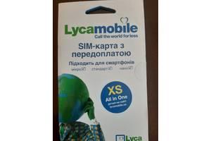 Cим-карты Lycamobile все в одном XS