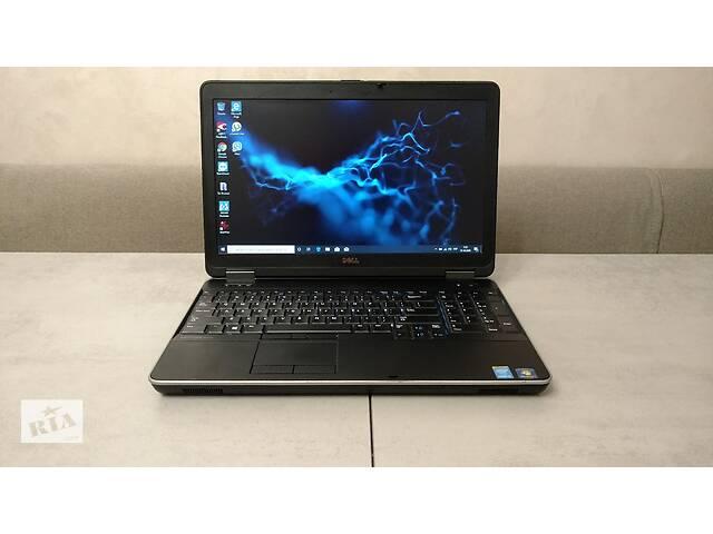 продам Dell Latitude E6540, 15,6 & # 039; & # 039 ;, i5-4300M, 8GB, 256GB SSD новый. гарантия. Наличные, перерасчет бу в Львове