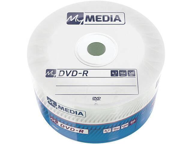 бу DVD+R MyMedia (69200) 4.7GB, 16x, Matt Silver Wrap, 50шт в Харькове
