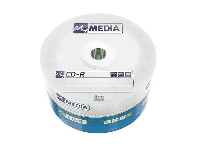 бу Диск CD MyMedia CD-R 700Mb 52x MATT SILVER Wrap 50 (69201) в Харькове