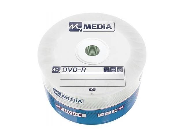 бу Диск DVD MyMedia DVD-R 4.7GB 16X Wrap MATT SILVER 50шт (69200) в Харькове