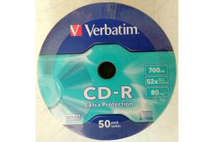 Диски CD-R Verbatim Extra Protection, 700Mb, 52x