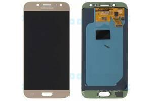 Дисплей (LCD) Samsung J530 Galaxy J5 (2017) OLED с сенсором золотой