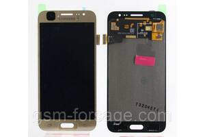 Дисплей Samsung Galaxy J5 SM-J500F complete with backlight Gold