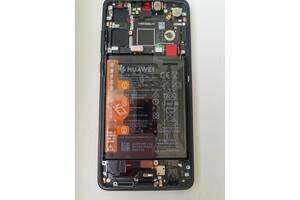 Дисплейный модуль, экран, дисплей для Huawei P30 Black (ELE-L29) (orig)