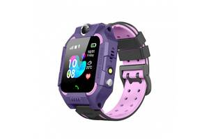Дитячий годинник Smart Baby watch Z6 SIM + GPS Purple