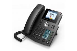 Fanvil X4U, sip телефон 12 SIP аккаунтов, USB, PoE (запись телефонных разговоров)