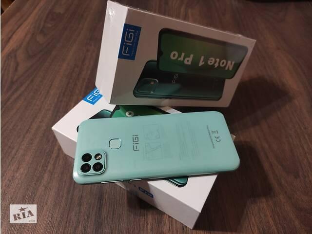 "бу FIGI Note 1 pro 4/128GB 4000 мАг 6,6"" Helio P25 + Чохол і Скло в Львове"