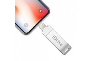 Флешка для iPhone и iPad 16GB IDRIVE Lightning / USB 2.0