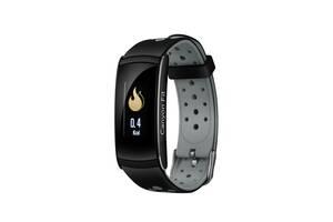 Фитнес-браслет Canyon CNS-SB41 Black/Gray; 0.96 (160х80) LCD сенсорный / Bluetooth 4.0 / 48 х 22 х 12 мм, 25 г / IP67...