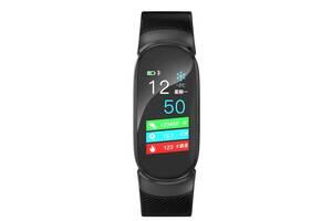 Фитнес-браслет с измерением пульса и давления Smartix QW16 Black (SMX6145IB)