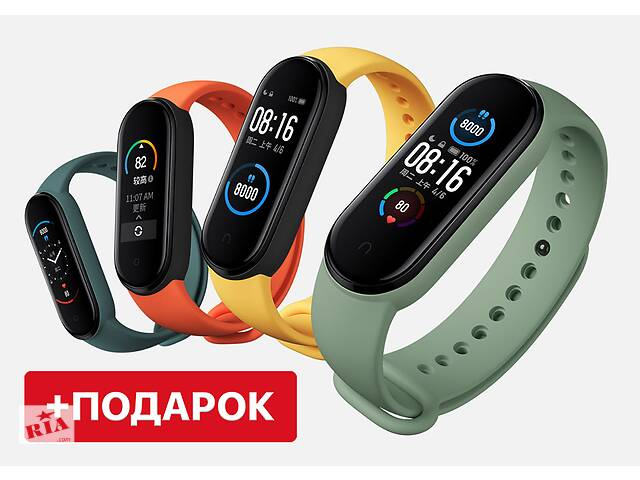 купить бу Фитнес браслет Xiaomi Mi Band 5, Фитнес трекер М5! в Харькове