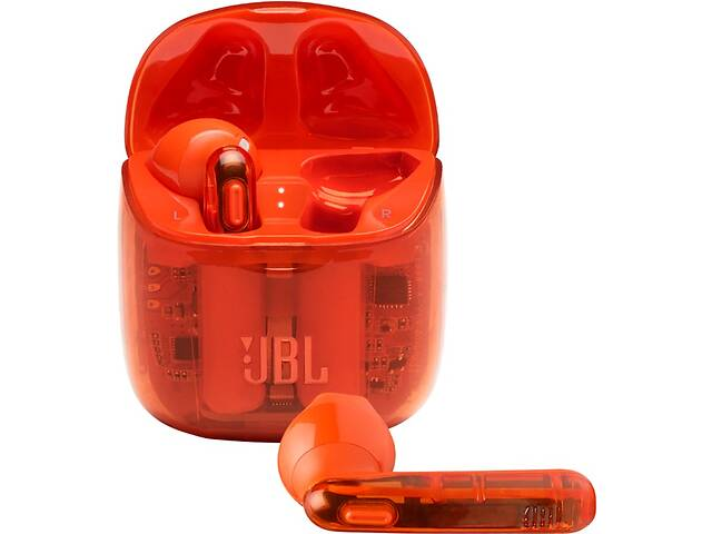 купить бу Гарнитура JBL TUNE T225TWS (JBLT225TWSGHOSTORG) Ghost Orange (6619234) в Одессе