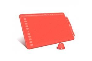 """Графический планшет Huion HS611 с перчаткой 10.1"""" х 6.38"""" Кораллово-красный (HS611 Red)"""