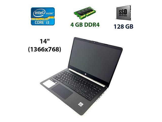"""купить бу Новый ноутбук HP 14-DQ1038WM / 14"""" (1366х768) TN / Intel Core i3-1005G1 (2 (4) ядра по 1.2 - 3.4 GHz) / 4 GB DDR4 / 1... в Киеве"""