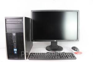 HP COMPAQ ELITE 8200 MT 4х ядерный Core I7 2600 4GB RAM 320GB HDD + Монитор 24'' HP Z24I AH-IPS LED