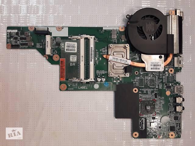 продам HP CQ43 материнская плата с системой охлаждения 657324 - AMD E300 бу в Голой Пристани