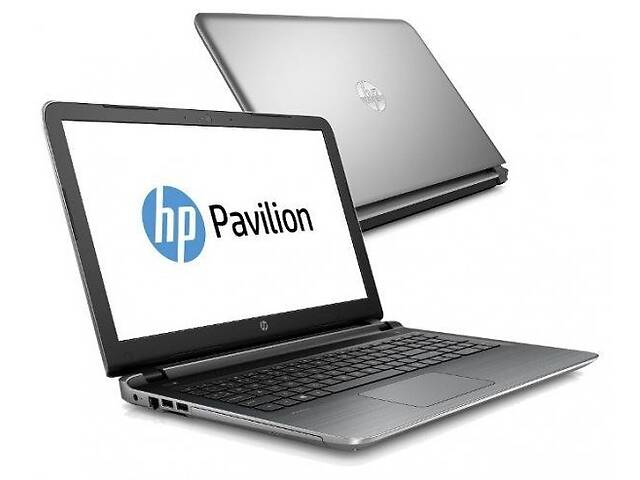 """бу Ноутбук HP Pavilion 15t-ab200 / 15.6"""" (1366x768) TN / Intel Core i5-6200U (2 (4) ядра по 2.3 - 2.8 GHz) / 8 GB DDR3 /... в Киеве"""