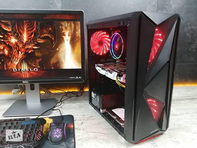 Ігровий ПК Diablo! intel i5-3470, 16GB, 120GB SSD, 500GB, GTX1060 3GB- объявление о продаже  в Львове