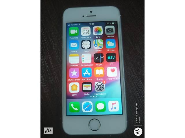 продам IPhone 5S A1533 32ГБ LTE з США, Неверлок ! ID (icloud) чистий ios 12.4.8.Бампер.Знос акб 8% бу в Києві