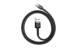 Кабель Baseus Cafule USB Type-C USB 3 A 2m Black-Grey