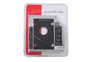 Карман-Адаптер Для Подключения 2.5 HDD/SSD Толщина 12.7 мм.