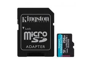 Карта памяти Kingston 256GB microSDXC class 10 UHS-I U3 A2 Canvas Go Plus (SDCG3/256GB)