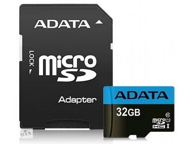 купить бу Карта памяти на 32 GB AData Premier microSDHC/SDXC UHS-I Class10%5b%5d DtAUSDH32GUICL10-RA1 в Киеве
