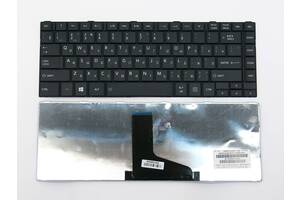 Клавиатура для ноутбука Toshiba Satellite C805 C840 C840D C845 C845D ( RU Black )