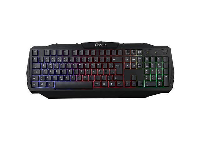 продам Клавиатура игровая проводная с подсветкой X'trike ME Gaming KB-302 Черный (gr_011345) бу в Киеве