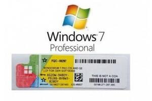 Ключ активації Windows 7 Pro