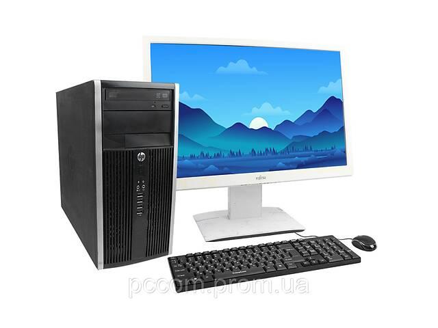 """Комплект HP COMPAQ ELITE 8300 MT Core I3 3220 4GB RAM 320GB HDD + 24"""" Монитор- объявление о продаже  в Киеве"""
