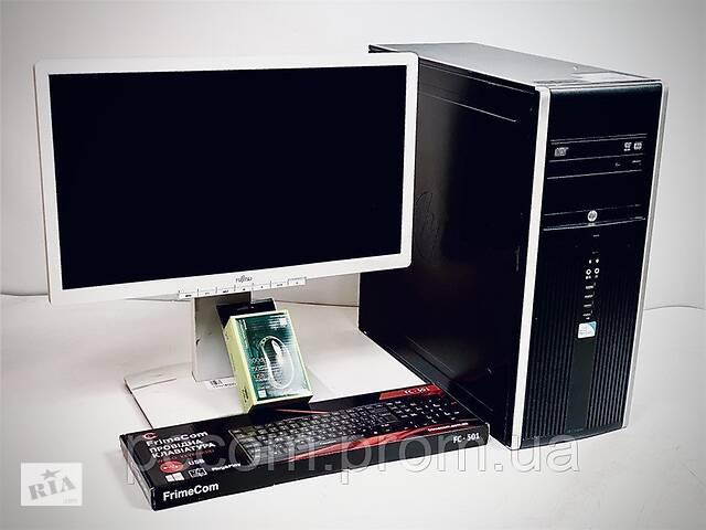 "продам Комплект HP8200 Core I3 2120 8GB RAM 500GB HDD HDD AMD Radeon R5 340x 2Gb + 20"" Fujitsu B20t-6 бу в Киеве"